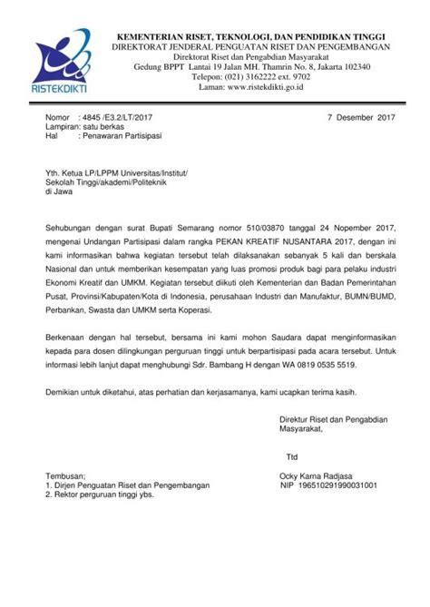 Contoh Surat Promosi Barang Elektronik by 12 Contoh Surat Penawaran Kerjasama Barang Jasa