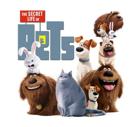 secret life  pets   clipart  foxartcards