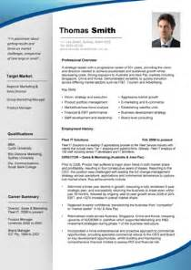 Resume Format Professional by Professional Resume Template Cv Schablonen