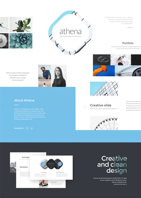 Powerpoint Template Keynote Image Collections Powerpoint Keynote Ebook Template