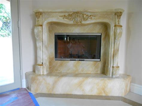faux marble fireplaces traditional indoor fireplaces