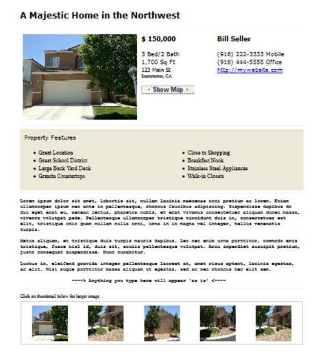 craigslist real estate template craigslist real estate template classified ad wizard
