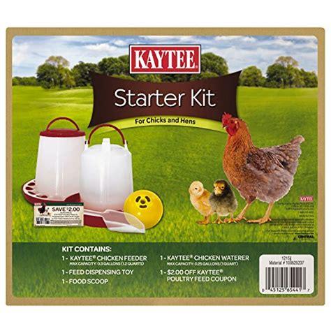 Backyard Chickens Starter Kit Kaytee 100525237 Chicken Starter Kit Ebay