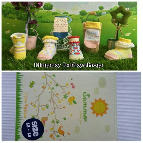 Baby Grow Kaos Kaki 6 12 Bulan 1 jual kaos kaki bayi antislip happy summer baby socks buat 12 18 bln happybabyshop