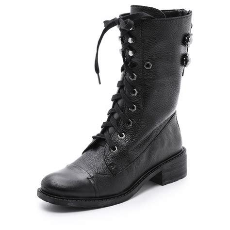polyvore boots sam edelman darwin combat boots polyvore