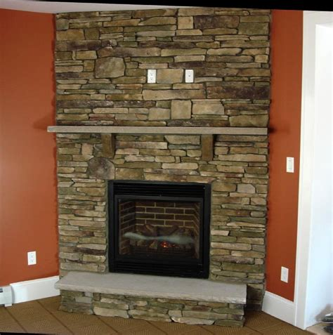 County Fireplace southern ledgestone in bucks county beyond the welcome