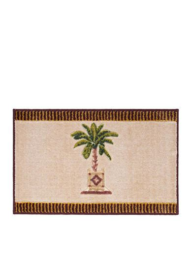avanti banana palm shower curtain avanti banana palm bath rug online only belk com