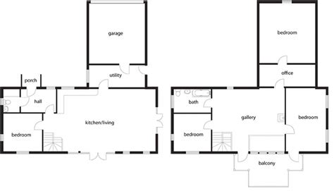 self build floor plans amazing low cost self build homebuilding renovating