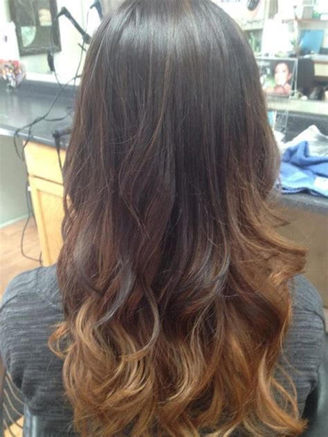 honey brown hair with ombre milk chocolate to carmel to honey blonde ombre i m
