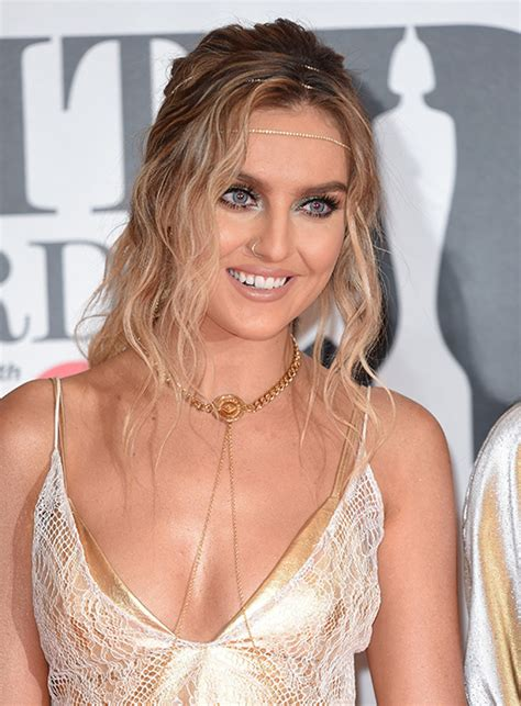 Perrie Edwards left with serious burns