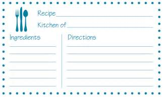 4x6 Card Template by 8 Best Images Of Free Printable 3x5 Recipe Cards