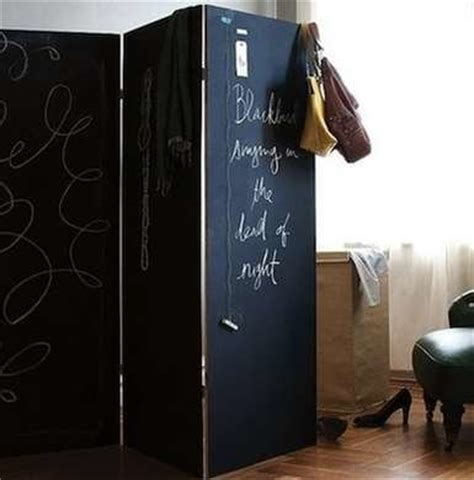 Chalkboard Room Divider by Chalkboard Paint Screen Room Divider Ideas 14 Cool Diy