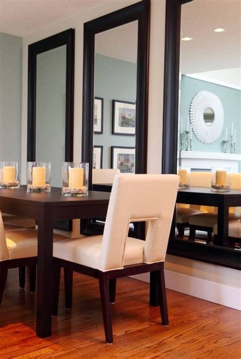 mirror for dining room wall 25 best ideas about dining room mirrors on