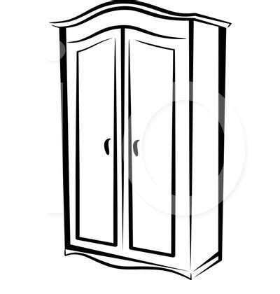 Closet Clip by Furniture Clipart Black And White The Interior Designs
