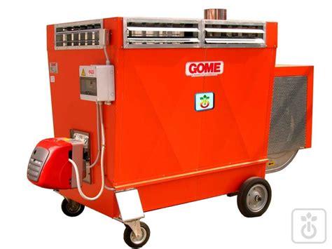riscaldamento per capannoni generatore di calore a gasolio per riscaldamento serre gome