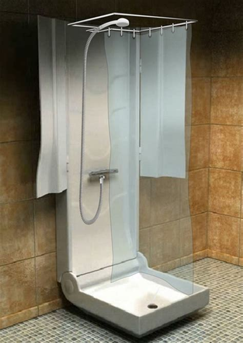 showers for small spaces folding shower for small spaces