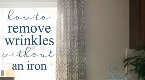 can you iron curtains how to remove wrinkles from curtains without an iron