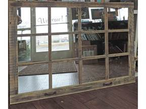window pane mirror 46 x 36 painted barnwood by abwframes