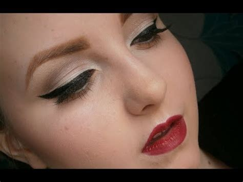 tutorial makeup natural glamour glamorous pin up makeup tutorial youtube
