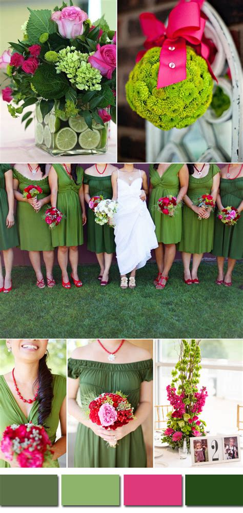 wedding colors for summer kale green wedding color ideas for 2017 summer