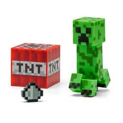 stupid com minecraft 3 quot creeper action figure