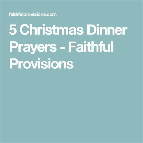 25 best ideas about dinner prayer on pinterest meal
