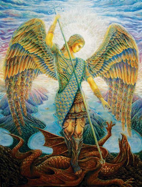 Archangel Michael Monique Sanch 237 Z De Mihalitsianos Archangel Michael