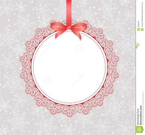Template Frame Design For Greeting Card Royalty Free Stock Image With Christmas Card Designs Card Design Template