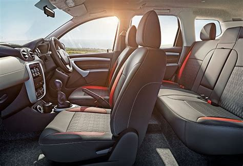 Renault Duster 4x4 Interior by Renault Duster 4x4 Awd Launched Price Starts From Rs