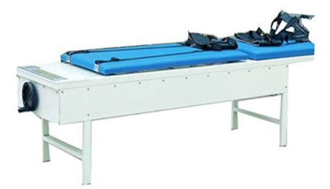 traction bed da 12c hand operated cervical and lumbar traction bed wanrooemed