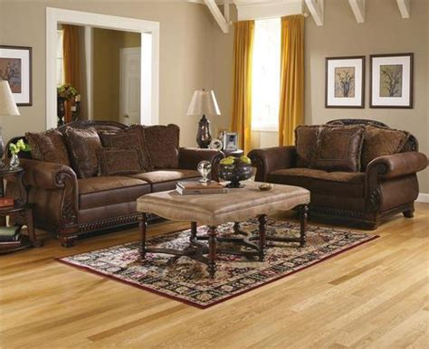 bradington truffle living room set ashley furniture sofa tables