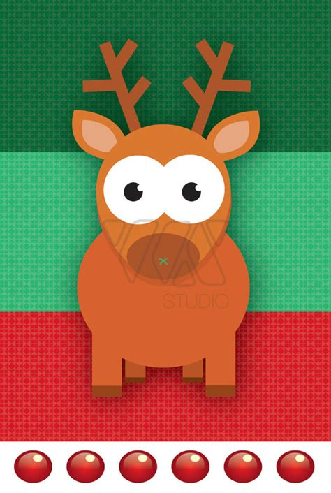 pin the nose on rudolph the red nose reindeer holidays