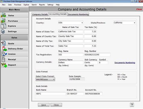 download microsoft access purchase order software sle