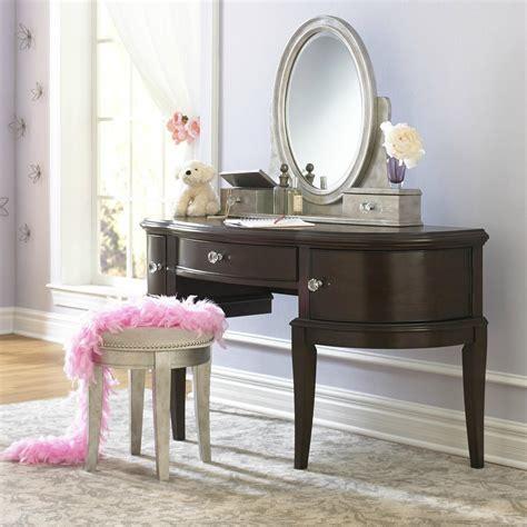 pulaski youth desk vanity and stool