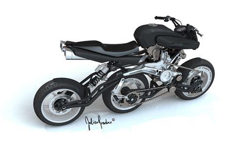 three wheel bike with motor three inline wheels better than two mcn