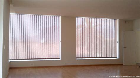 sistemas de cortinas y estores estor guiado y cortinas verticales loneta mimo el