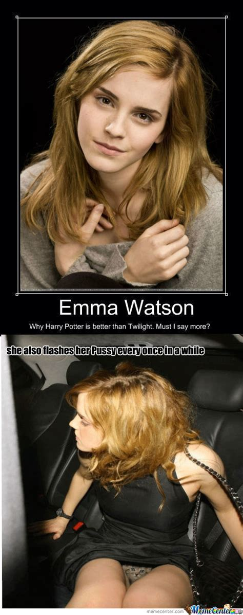 Emma Watson Meme - rmx emma watson why harry potter is better than