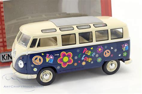 Volkswagen Vw Hippie Year 1962 Blue Beige Ck40822