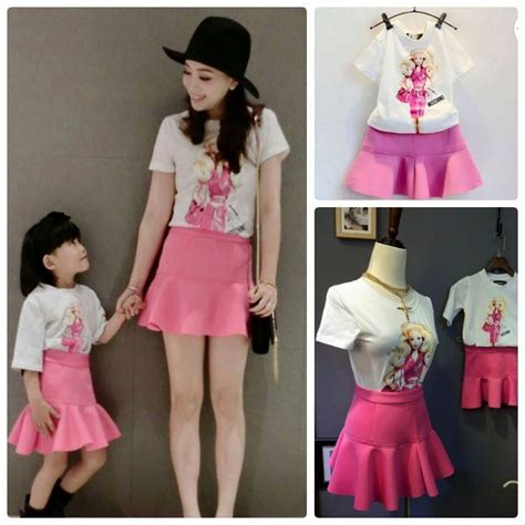 Setelan Kaos Anak Perempuan Flowers Pink jual berbagai macam busana anak kecil pakaian anak laki