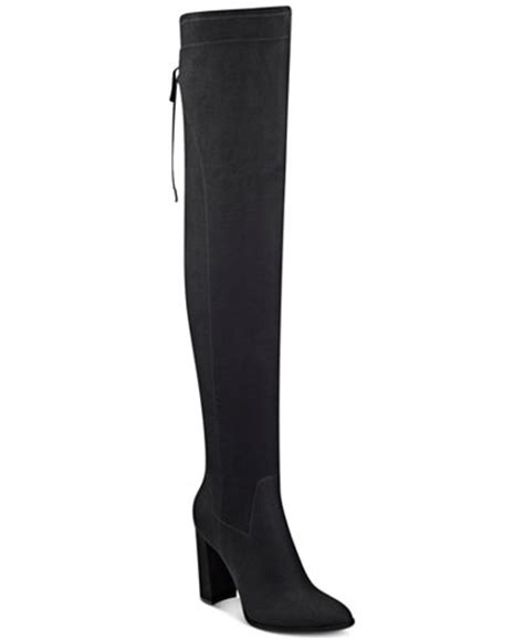 marc fisher the knee boots marc fisher nio the knee boots boots shoes macy s