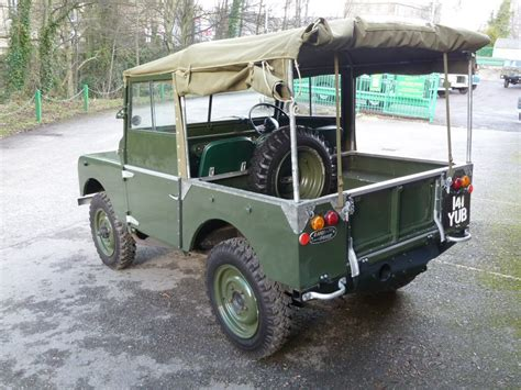 80s land rover 141 yub 1951 series i 80 quot soft top land rover centre
