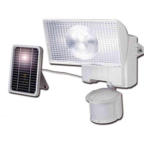 Cooper Lighting 180 Degree Outdoor Motion Activated Solar Solar Powered Lights Home Depot