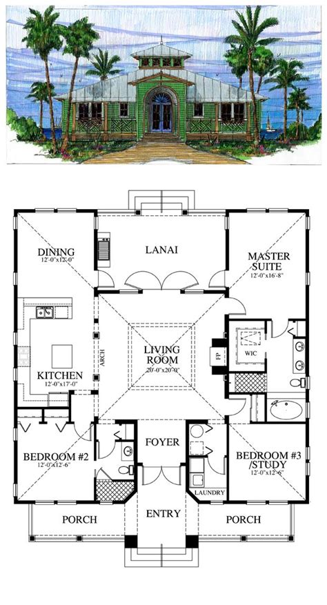 cracker house plans florida cracker style cool house plan id chp 39722
