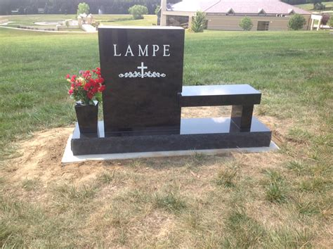 24in on 66in base logan memorial funeral chapel