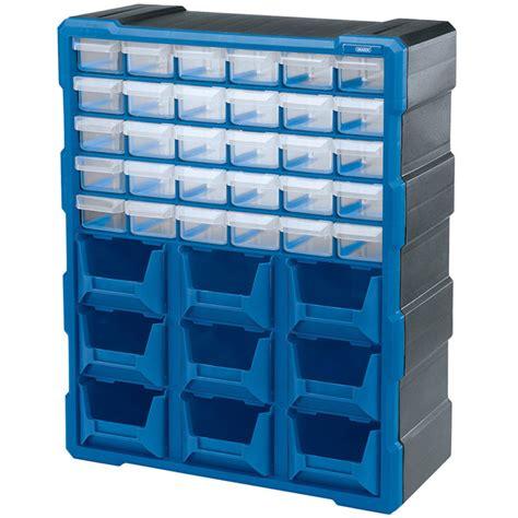 The Spare Parts Box draper small spare parts box bins compartment organiser