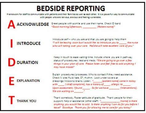 Bedside Report Template Er 16 Nursing Shift Report Template Rn Report