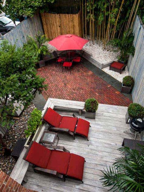 23 Small Backyard Ideas How To Make Them Look Spacious And Small Backyard Ideas Landscaping