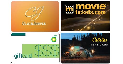 Cabela S Gift Cards At Kroger - cabela s 100 gift card only 85 shipped more hip2save