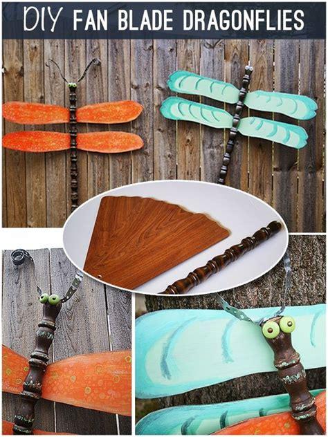 ceiling fan blade craft ideas recycle fan blades diy pinterest dragonflies fan