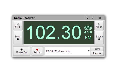 Usb Tv Tuner Fm Radio radio receiver chrome web store